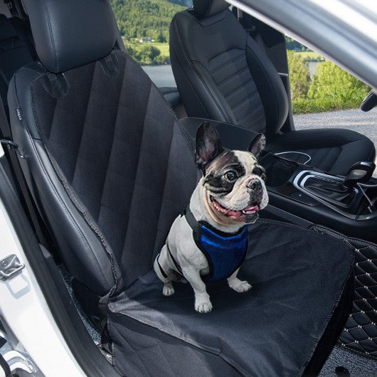 Waterproof Pet Front Seat Cover For Cars With Anchor