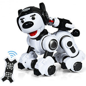 Wireless Programmable Interactive Remote Control Robotic Dog