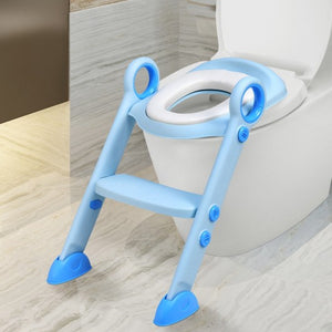 Toddler Toilet Potty Training Seat with Non-Slip Ladder