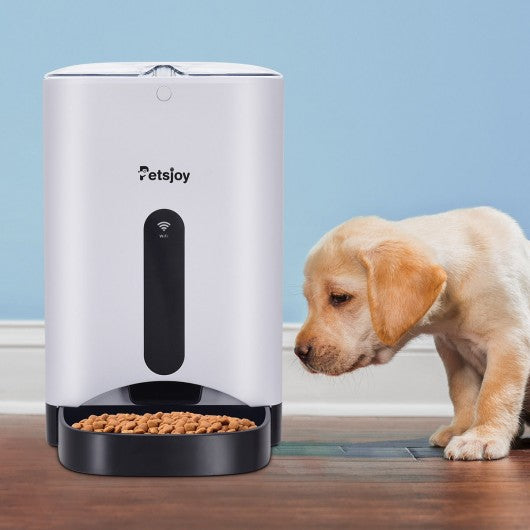 APP Automatic Remote Control Timer Pet Food Dispenser