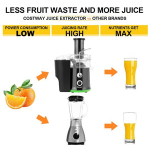 2 Speed Wide Mouth Fruit & Vegetable Centrifugal Electric Juicer