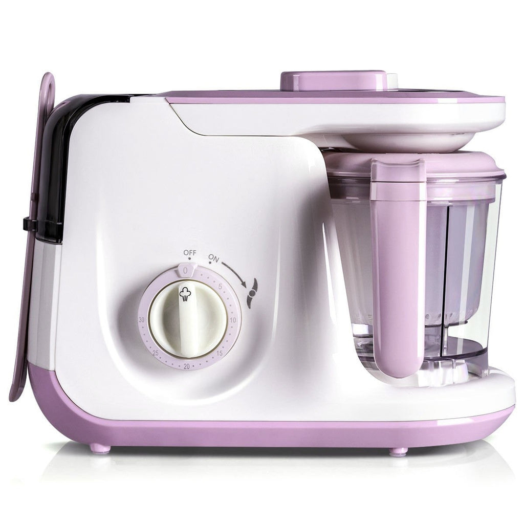 5-in-1 Heating Defrosting Baby Food Maker Infant Feeding Blender