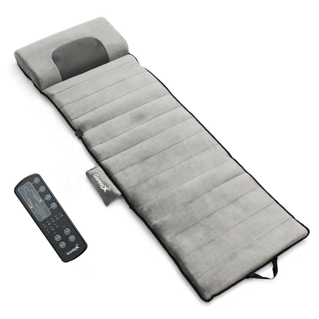 Foldable Full Body Massage Mat Heated Neck Massager