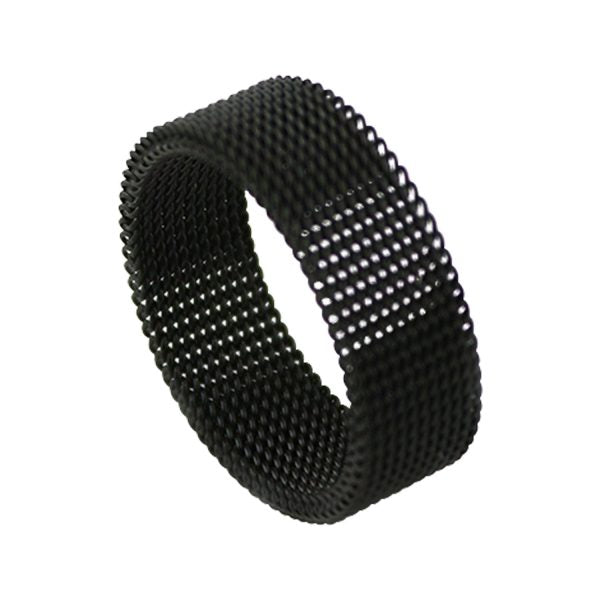 Black Chain Mail Ring | The Medieval Store