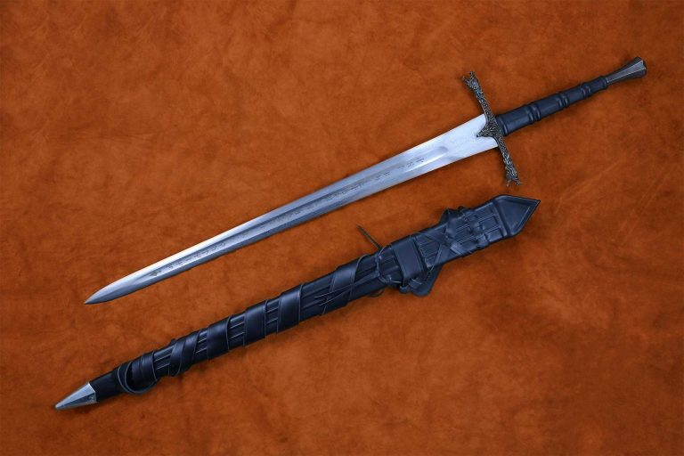 Eindride Sword Folded Steel Blade