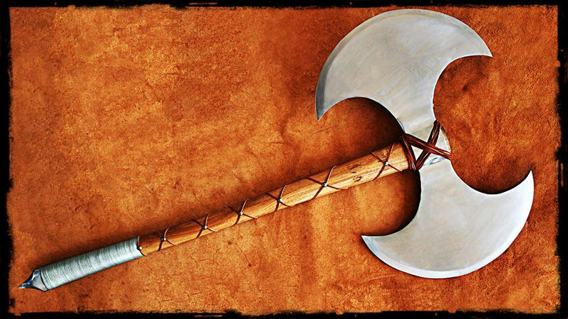 Barbarian Fantasy Battle Axe | The Medieval Store