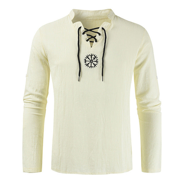 Viking Linen Top Shirt | The Medieval Store