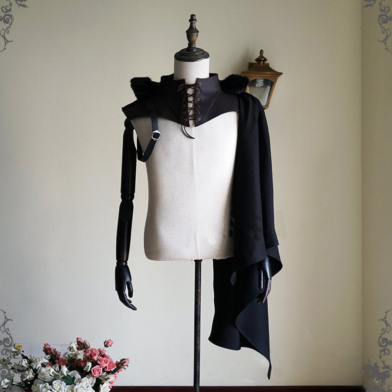 Gothic Hooded Shawl Cape | The Medieval Store