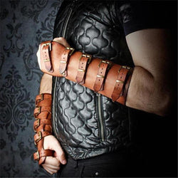 Leather Arm Bracers | The Medieval Store