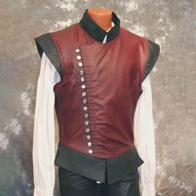 Leather Vest Gambeson | The Medieval Store