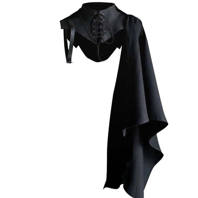 Gothic Knight Single Sleeve Cloak | The Medieval Store