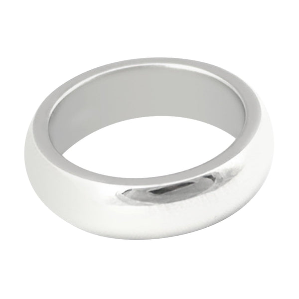 TROTH Silver Tungsten Ring | The Medieval Store