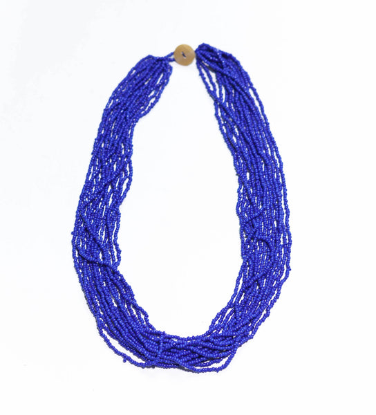 Deep Sea Blue - The Original Bali Bead necklace