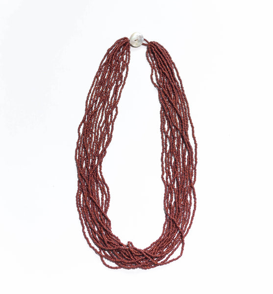 Mocha -  The Original Bali Bead Necklace