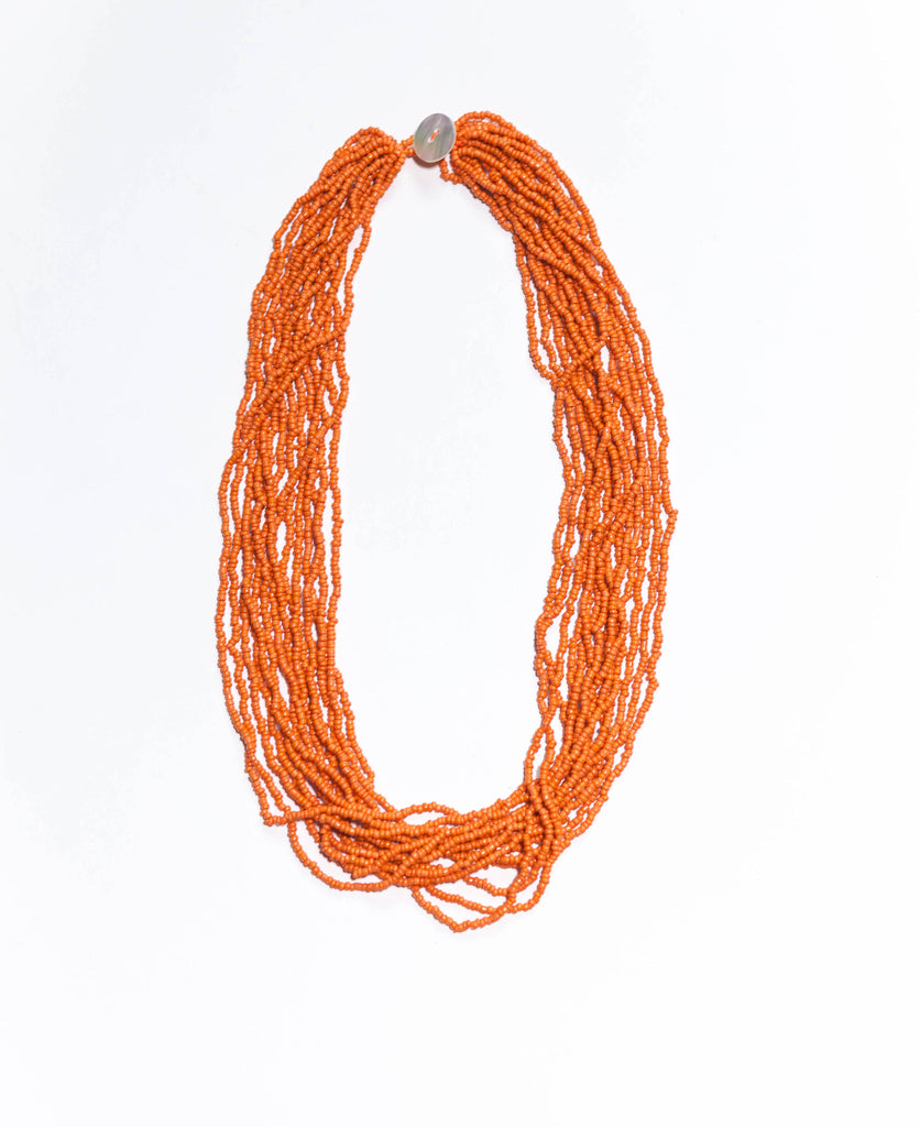 Orange -  The Original Bali Bead Necklace
