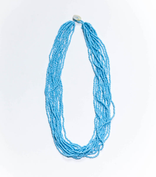 Powder Blue -  The Original Bali Bead Necklace