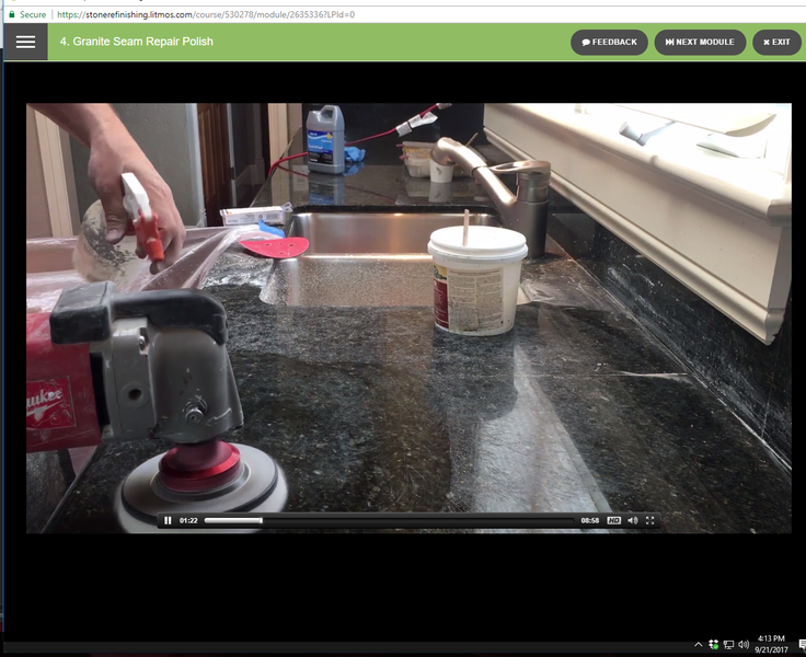 New Content Alert - Seam Repair, Leveling, Granite Restoration