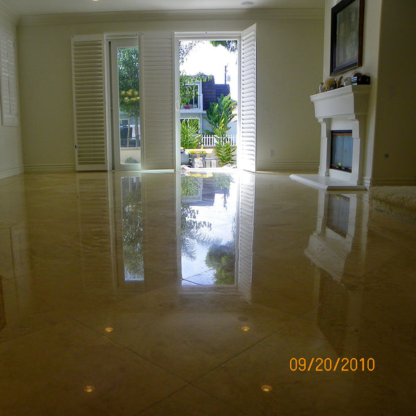 Travertine Floor Maintenance