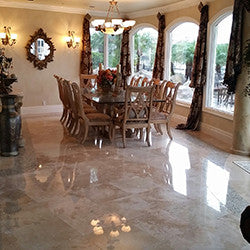 Marble FLOOR Refinishing & Polishing Complete Service Class