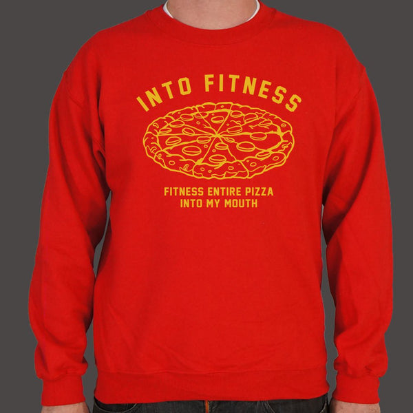 Into Fitness, Fitness Entire Pizza Into My Mouth Sweater