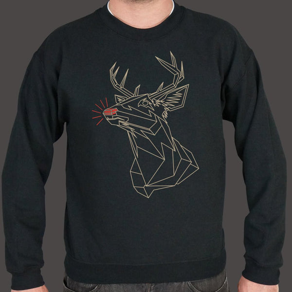 Polygon Rudolph Sweater