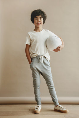 Louie Harem Pant - Heather Grey