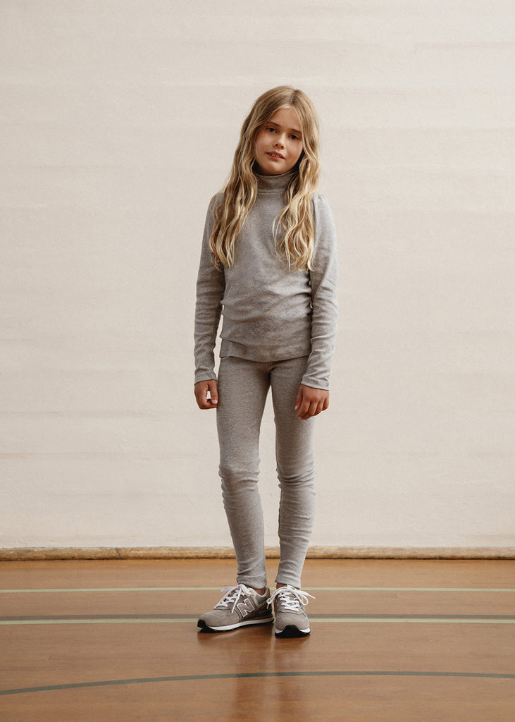 Alix Classic Legging - Heather Grey