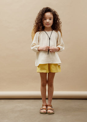 Simone Raglan Tunic - Natural