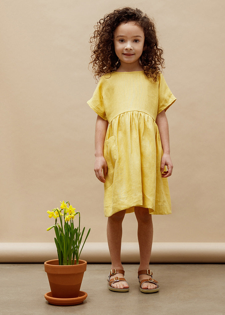 Marie Everyday Dress - Golden