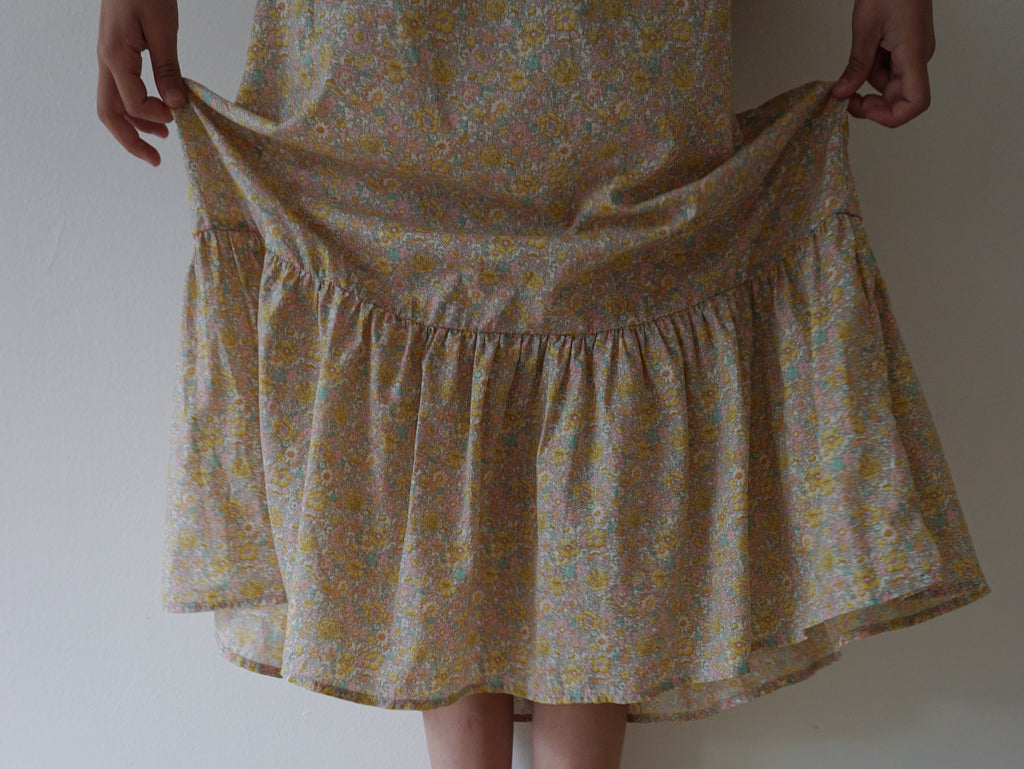 Béatrice Sun Dress - Amelie Pastel