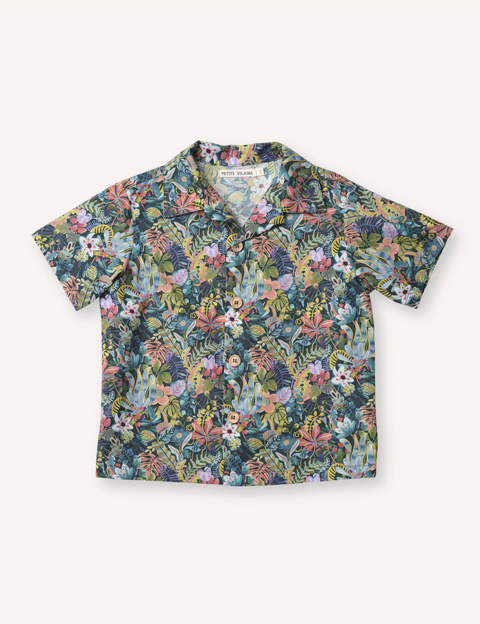 Adrien Aloha Shirt - Jungle