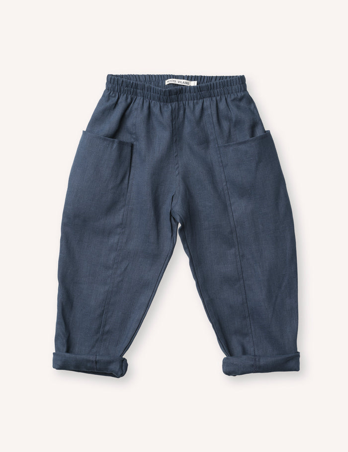 Maxence Pocket Pant - Navy