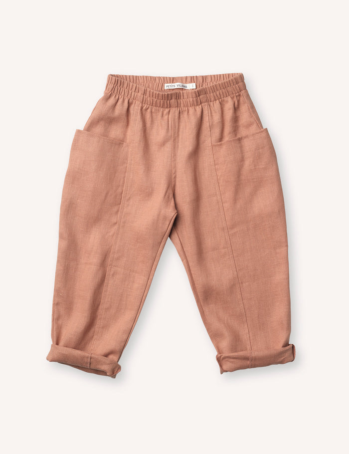Maxence Pocket Pant - Baked Clay