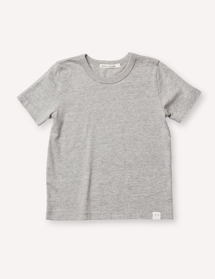 Sasha Classic Tee - Heather Grey