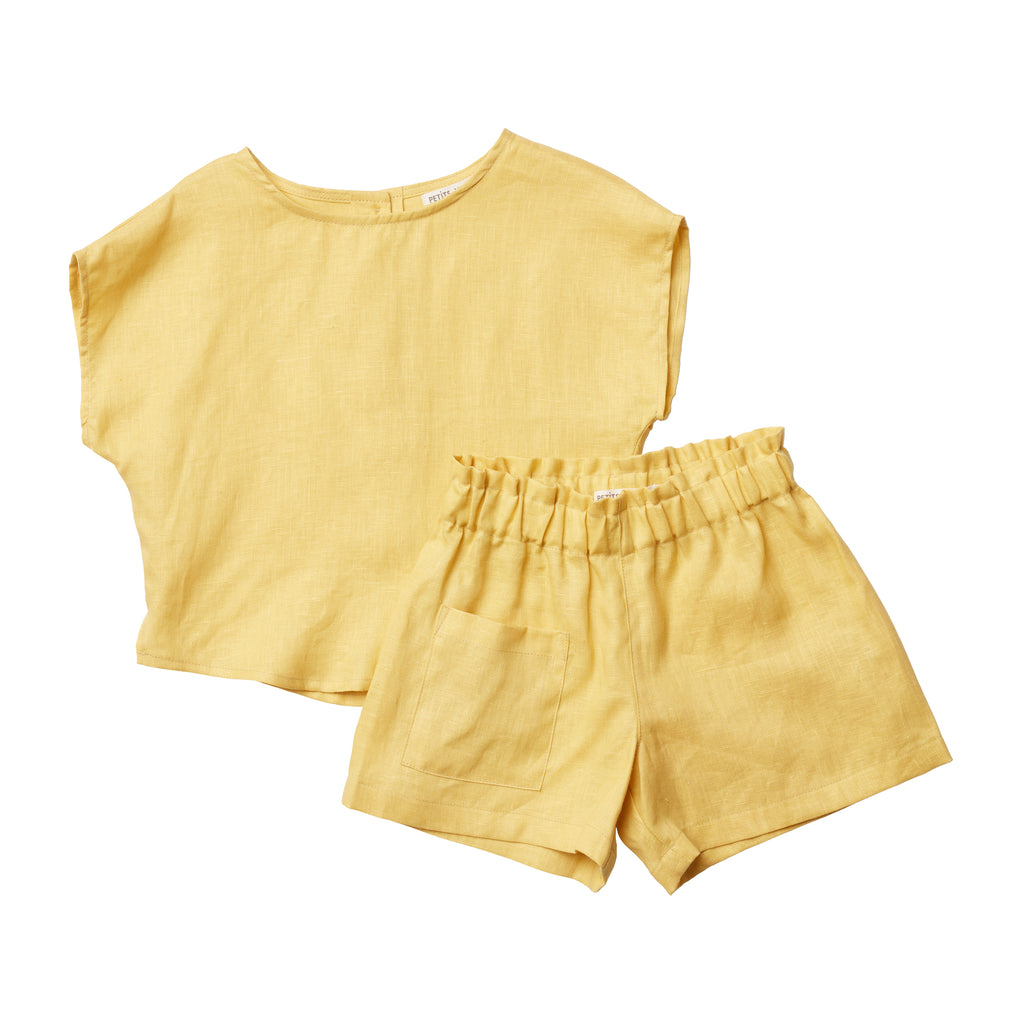 Camille Flutter Short - Golden