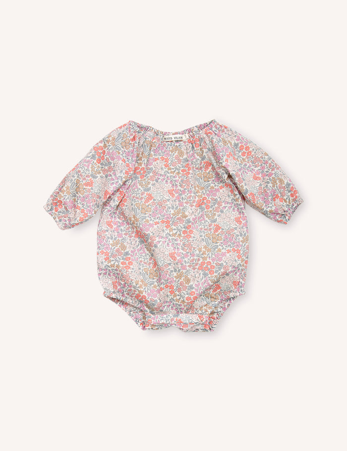 Olympia Playsuit - Sweet May Blush