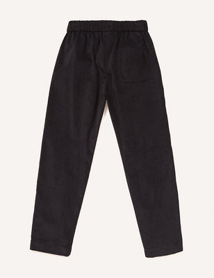 Frederique Peg Leg Trousers - Black