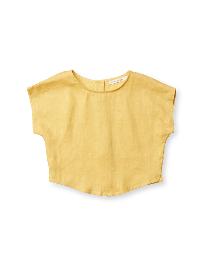 Lou Shell Top - Golden