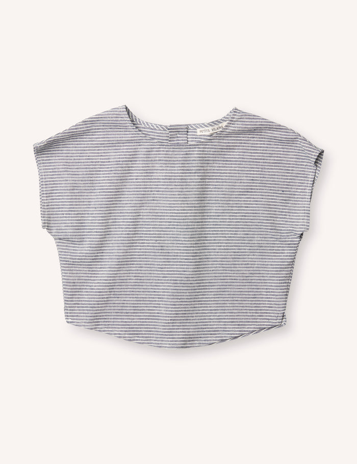 Lou Shell Top - Stripe