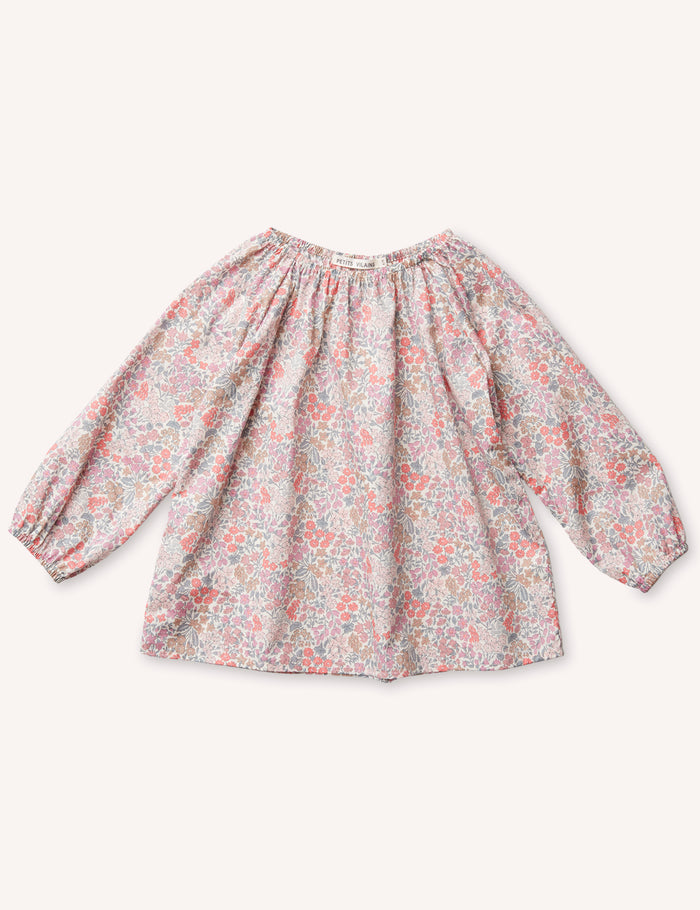 Simone Raglan Tunic - Sweet May Blush
