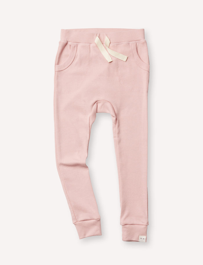 Louie Slim Jogger - Dusty Pink
