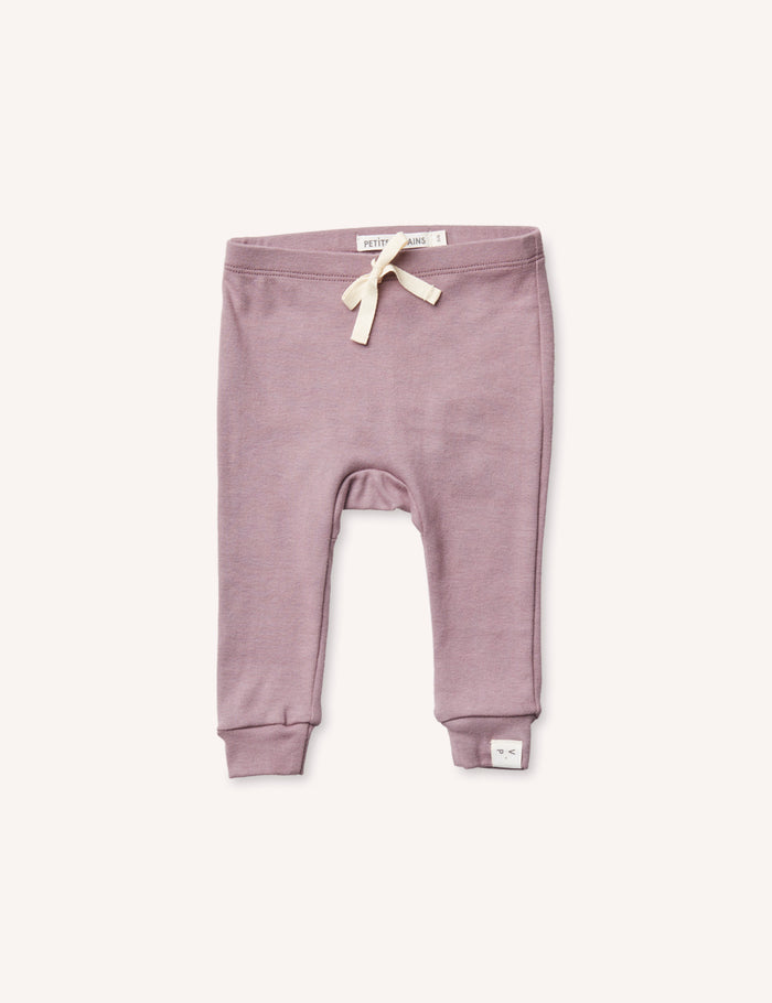 Laurence Baby Legging - Mauve