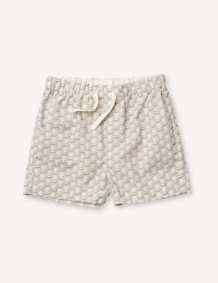 Rémi Beach Short - Noble Geo Tan