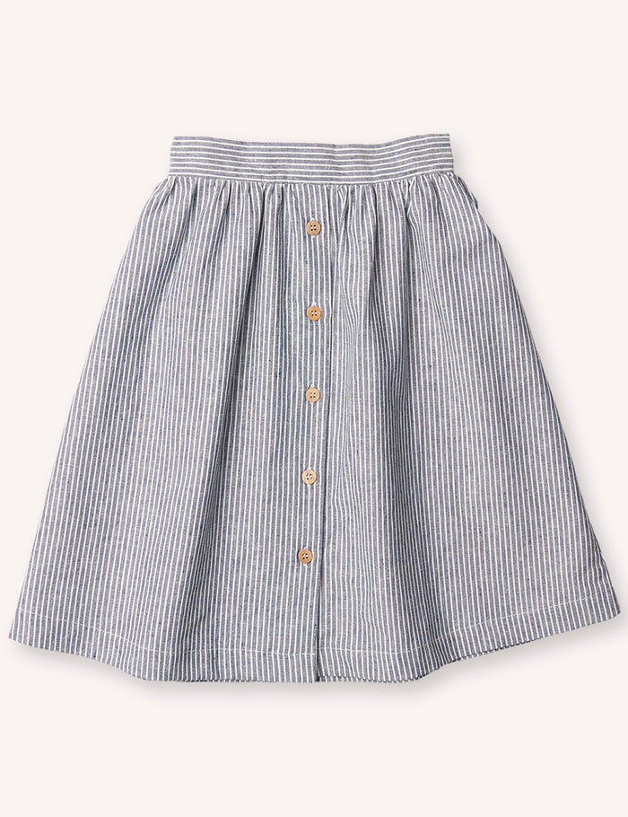 Adèle Midi Skirt - Stripe