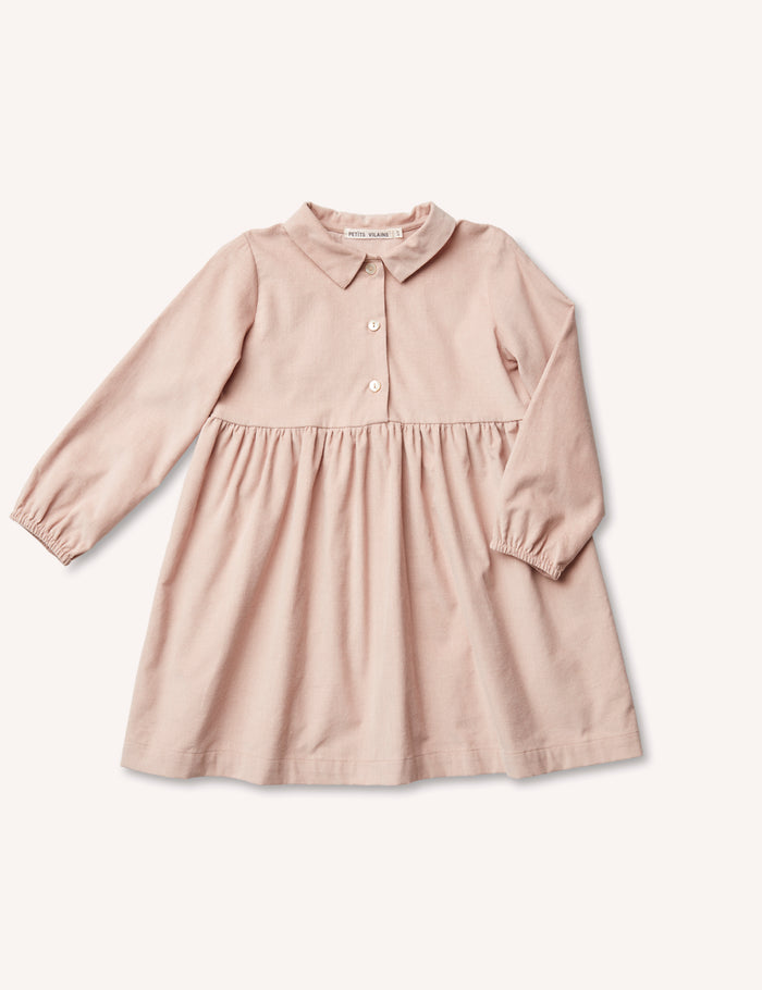 Mathilde Shirt Dress - Blush