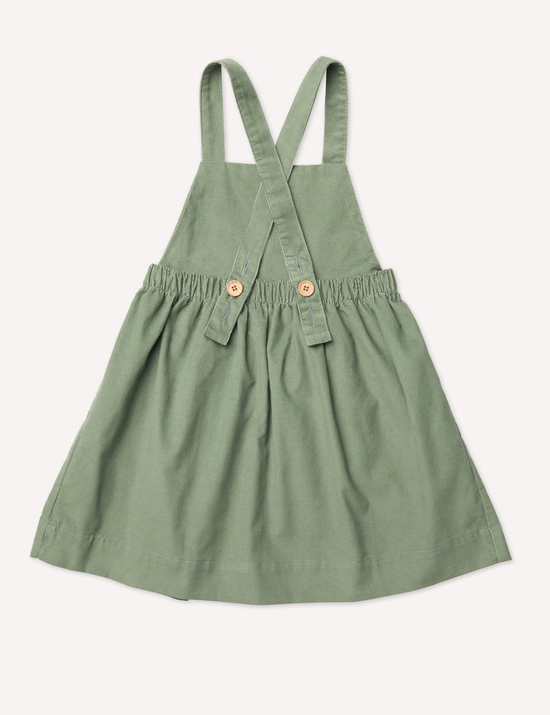 Inès Pinafore Dress - Lichen