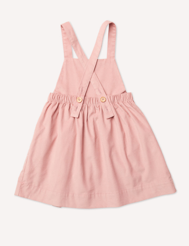 Inès Pinafore Dress - Petal