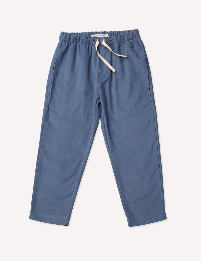 Paul Slim Trousers - Blue