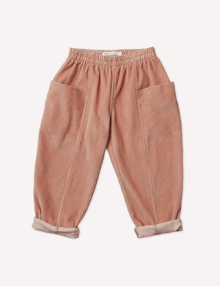 Maxence Pocket Pant - Rose