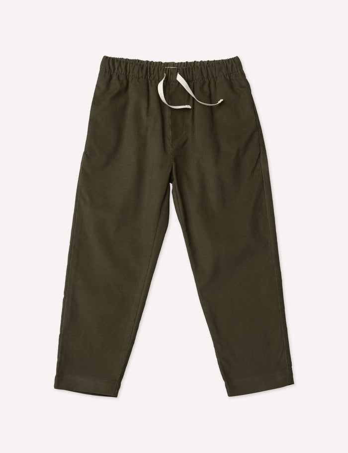 Paul Slim Trousers - Moss